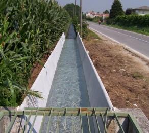 Pozzo Sansughe Nuove canalette via Bellinghiera
