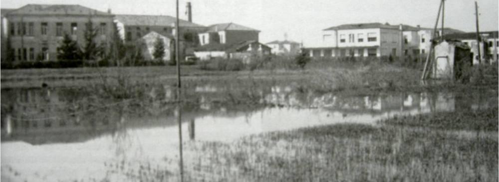 Mestre, via Torre Belfredo, aprile 1947