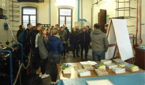 Studenti belgi in visita