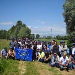 La delegazione del consorzio Emilia Centrale