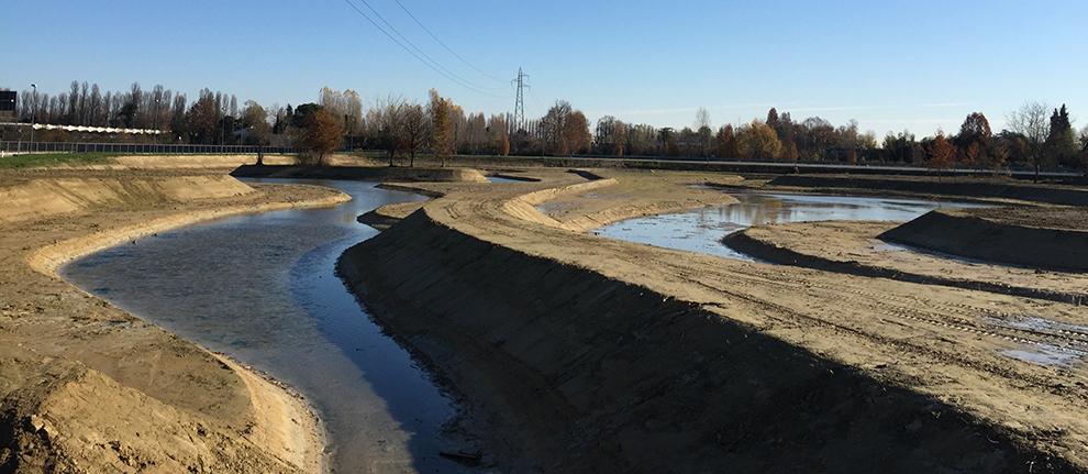 Riqualificazione ambientale dello Scolo Rusteghin a Campocroce di Mogliano Veneto (TV)